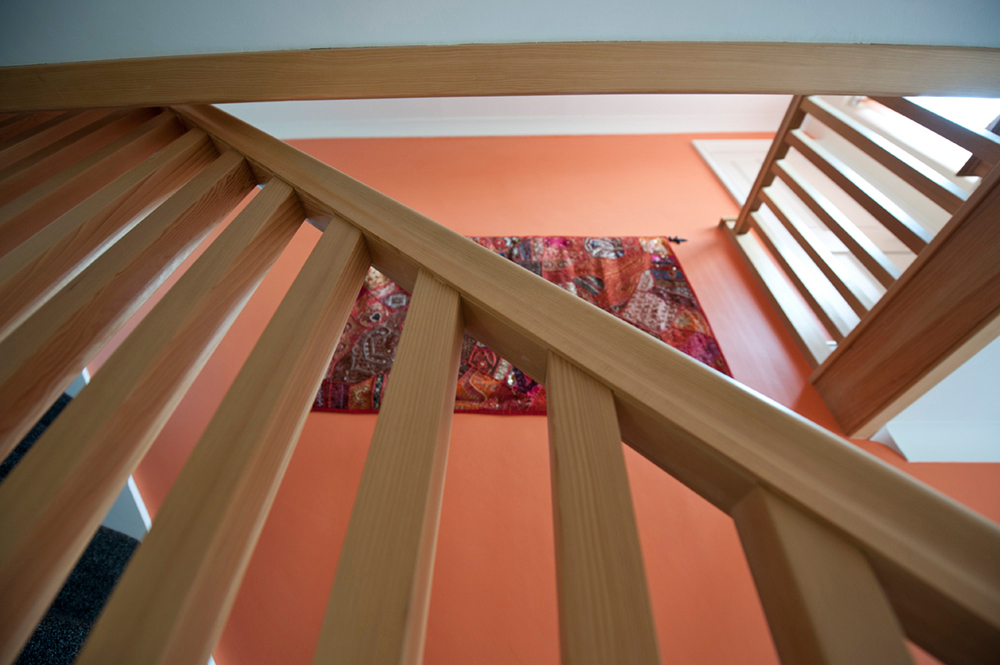 Stairs fitted by carpenter, F A Ingram, Chelmsford, Brentwood and Billericay, Essex