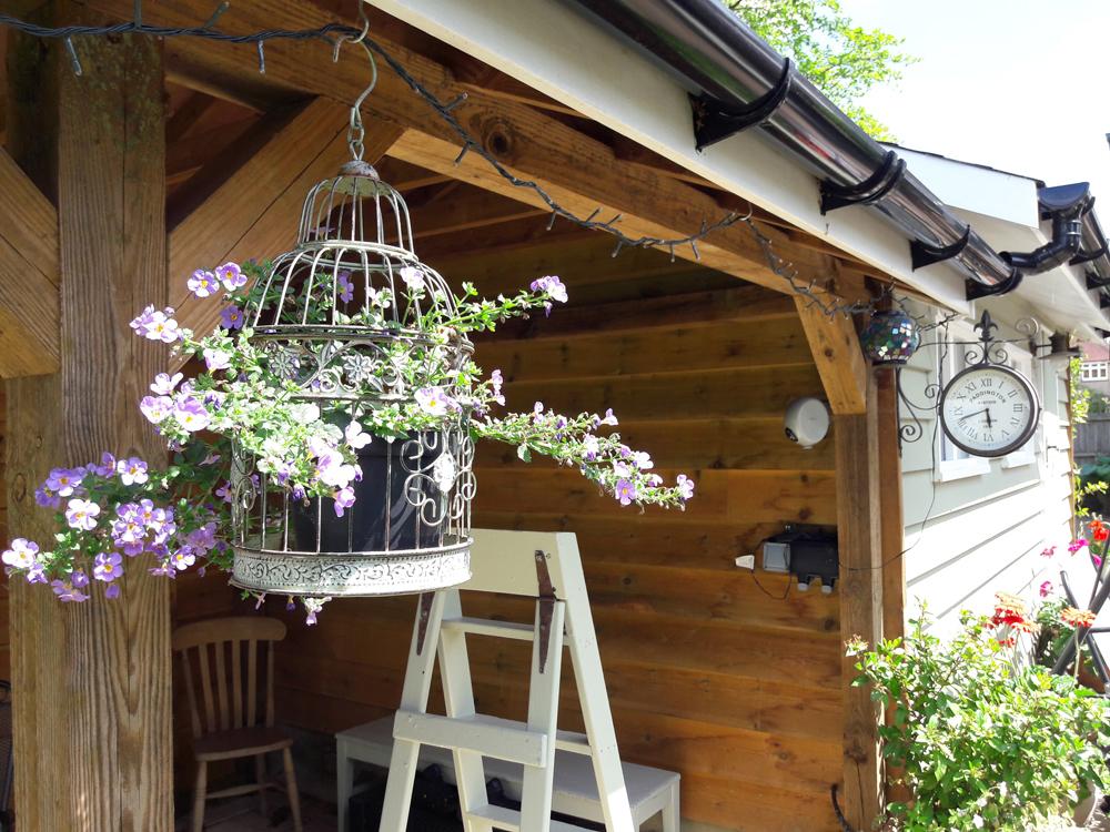 Garden building made by carpenter, F A Ingram