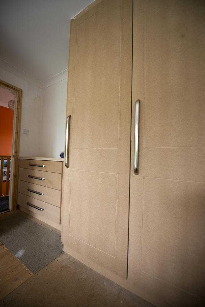 wardrobe made by carpenter, F A Ingram in Chelmsford